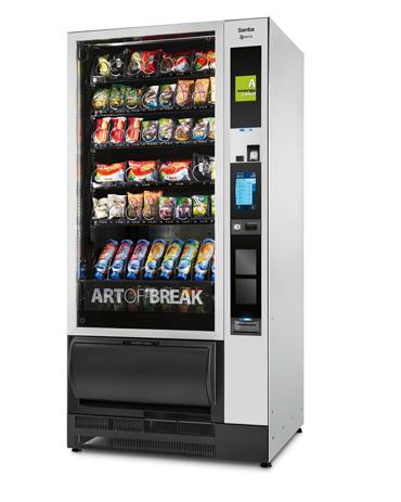 Necta-Samba-snackautomat